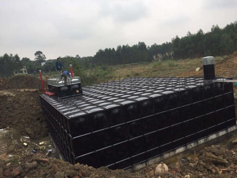 地埋式箱泵一體化調試
