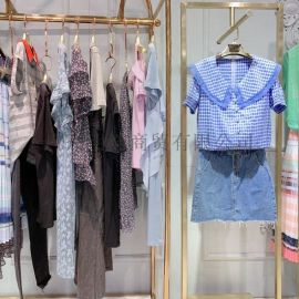 廣州明浩長期供應世紀藍天折扣女裝一手貨源