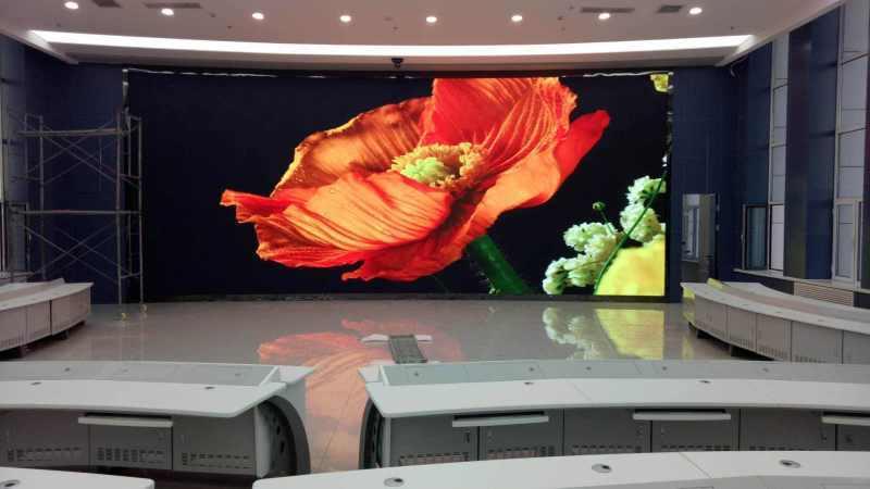 小间距P1.6显示屏,会议室P1.667全彩显示屏
