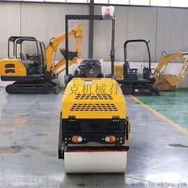 捷克1吨压路机 单轮小型压路机 冲击碾压设备
