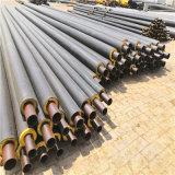 榆林 鑫龍日升 黑夾克螺旋保溫鋼管DN450/478黑皮子聚氨酯保溫管