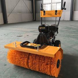 四轮滚刷扫雪机 多功能扫雪车 装载机改装扫雪车