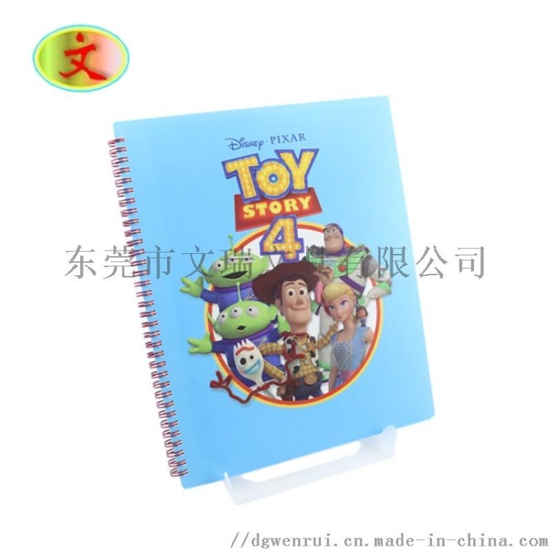 米老鼠玩具动员线圈本线圈6P文件袋