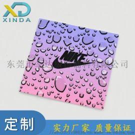 洗水唛材料装饰烫画贴水滴效果布标印刷皮标TPU