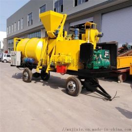 厂家小型沥青拌合机 公路养护旧料沥青热合搅拌机