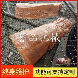 大型工厂专用三文鱼冷熏炉烟熏炉设备
