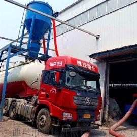 货站集装箱导料自动吸灰设备环保无尘水泥粉装车机