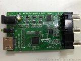 HDMI转AHD BYPASS方案 低成本