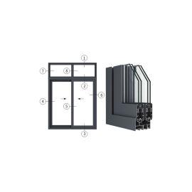 創高PC90|PC90X系列隔熱節能推拉窗