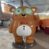 深圳玻璃钢卡通熊猫雕塑定制厂家