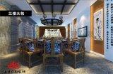 淄博临沂主题餐厅中式餐厅装修设计