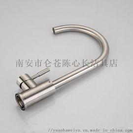 不锈钢厨房龙头 SUS水槽龙头 304混水龙头