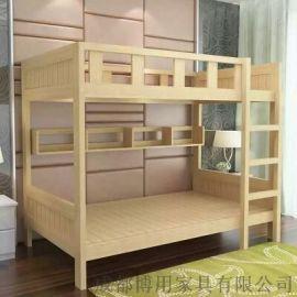 四川宿舍高低床厂家 四川儿童实木高低床