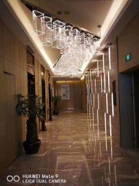 酒店电梯厅灯具 酒店工程灯 亚克力吸顶灯