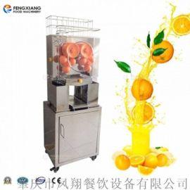 凤翔 立式不锈钢鲜榨果汁机 全自动榨汁机