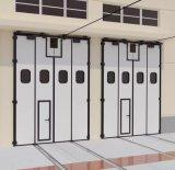 铝合金电动折叠门 折叠门厂家 定制折叠门