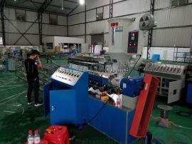50螺杆环保吸管挤出机PLA降解吸管挤出生产线 广东盟富MF-50PLA降解吸管挤出生产线