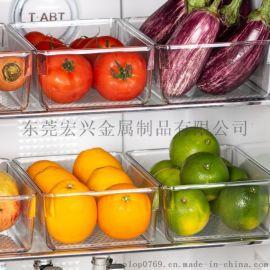 厨房冰箱水果置物盒桌面分类整理盒塑料零食储物盒