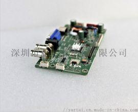 宽温-40~105度工业级VGA液晶屏驱动板
