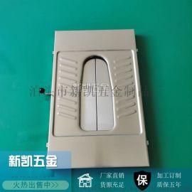 景区厕所推拉式不锈钢蹲便器 蹲便器带盖板