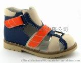 广州儿童矫正鞋,中邦外贸凉鞋,真皮童鞋