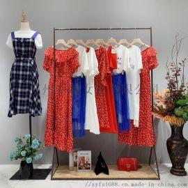村上春2020夏装品牌女装连衣裙 爆款女装走份