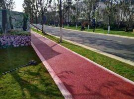 彩色透水地坪施工/生态透水砼透水路面铺装与技术指导