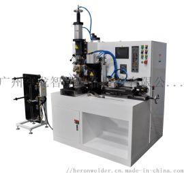 亨龙80KVA铜编织线自动焊接剪切机