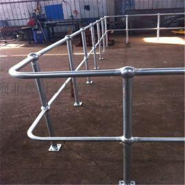 平台钢格板 楼梯踏步板 排水沟盖板 球形立柱栏杆