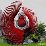 大型不锈钢金葫芦雕塑