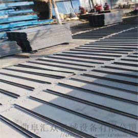 转弯链板输送机 自动化生产线厂家 六九重工 板式输