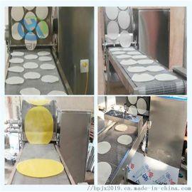 新款推出蛋饼机  烤鸭饼  荷叶饼  薄饼生产设备