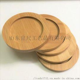 竹木隔热杯垫 木质杯垫 竹制杯垫