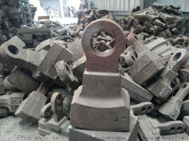 砖机破碎高锰钢合金锤头 矿山石料破碎机复合锤