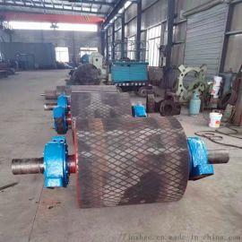 630驱动包胶滚筒厂家定做 聚氨酯包胶滚筒各种型号
