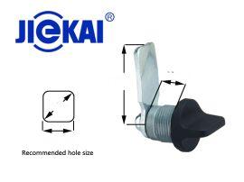 JK605 配电柜门锁 三角圆柱锁 手柄三角锁