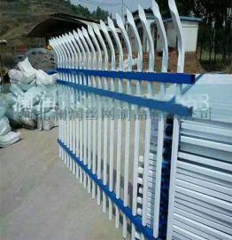生产 安全热镀锌钢围墙护栏 锌钢广告护栏 安平阳台锌钢护栏