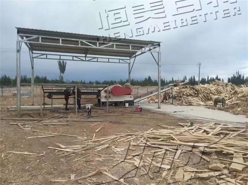 木托盘破碎机 建筑模板破碎机设备厂家