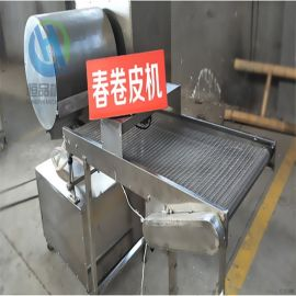 自动化双排烤鸭饼机 圆形方形薄饼机器
