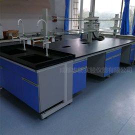 实验室  台   操作台 成都钢木结构  实验台