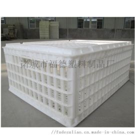 塑料鸡周转笼 鸡运输箱 塑料转运筐