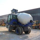 自动上料混凝土搅拌车 混凝土水泥搅拌车