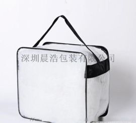 车缝化妆品袋PVC防水化妆品拉链袋TPU
