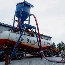 河北热电厂干灰粉剂装车环保输送机化工石粉倒仓吸料机