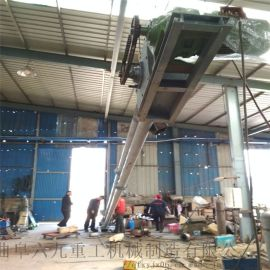水平管链输送机 爬坡管链提升机LJ1盘片提升机