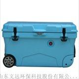 山东手提式塑料冷藏箱供应/山东塑料干冰箱密封性好