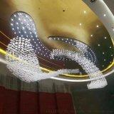 提供沙盤創意水晶吊燈定制