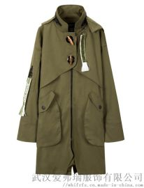 进货衣服渠道三帅20年春装新款女式风衣外套