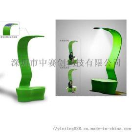 中赛创新款供应太阳能充电座椅太阳能椅