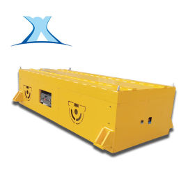 无轨重载型小车 10吨模具运输周转电动移动平台板车